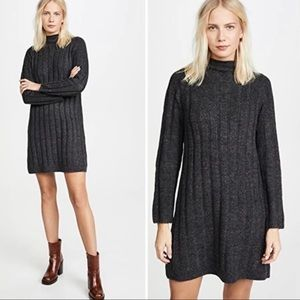NWOT Madewell Donegal Mock Neck Sweater Dress